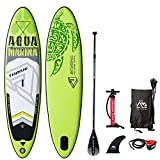 Aqua Marina Stand Up Aufblasbare Paddle Sup AQUAMARINA Thrive 2019 Full Pack 315x79x15cm