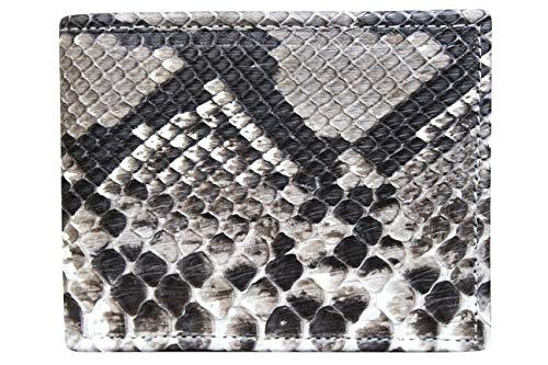e5503a411e Portafoglio Uomo in Vero Pitone - Prodotto Artigianale fatto nel Cuore  della Toscana - Rettile -
