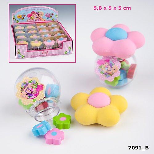 Depesche Trixibelles Pilz Radiergummi Set Farbe: rosa oder rot Artikel wird sortiert geliefert!