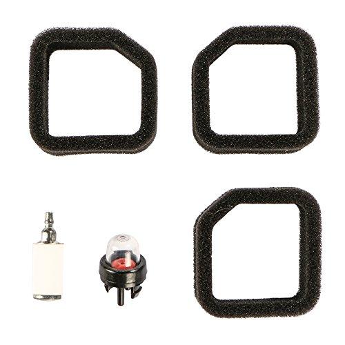 Woworld 3Stück Air Filter mit Kraftstofffilter Primerpumpe Turn up Kits für Toro Trimmer 5195251954519555195651957519585197051970A 51972519735197451975519765197751978