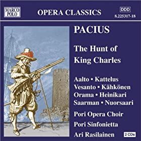 Kung Karls jakt (The Hunt of King Charles): Act II Scene 1: Dialogue: Aina muistelen tuot pikku kuningasta (It makes me think about the little King) (Leonora)