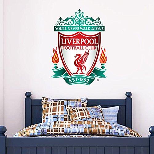 Beautiful Game Offizieller Liverpool Football Club Aufkleber + LFC Aufkleber Set Vinyl Poster Druck, Vinyl, 120 cm (Club-aufkleber)