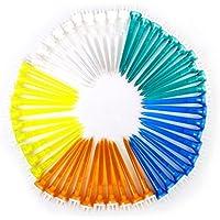 Bright Shining Bola de Golf en Forma de Corona, Brillante, 50 Unidades, Colores Mezclados, 78 mm