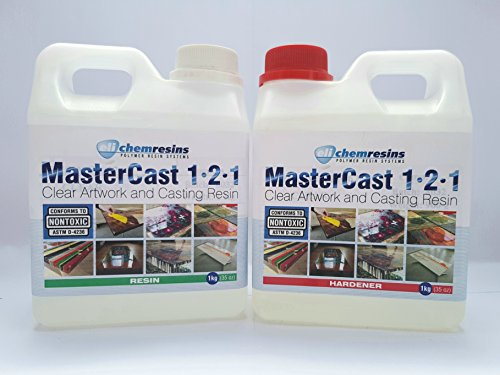 clear-resin-epoxy-art-grade-resin-2kg-uv-stabilised-mastercast-1-2-1-with-hardener-and-free-mixer-to