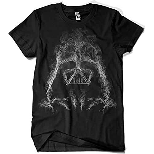 dia del orgullo friki 319-Camiseta Star Wars - Darth Smoke (Donnie)