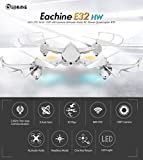 EACHINE E32HW WiFi FPV RC Quadcopter Drone With 720P HD Camera Altitude Hold RTF Black