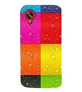 PrintVisa Designer Back Case Cover for LG Nexus 5 :: LG Google Nexus 5 :: Google Nexus 5 (Wet Check Pattern)