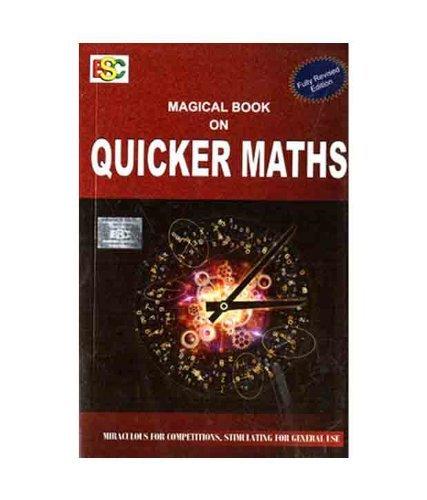 Magical Book on Quicker Maths 2017