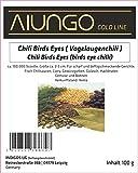 Viungo® Goldline - Chili Birds Eyes ( Vogelaugenchili ) - 100g - Nachfüllbeutel