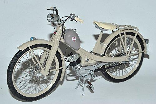 Preisvergleich Produktbild NSU Quickly N Beige 1955-1962 1/10 Schuco Modell Motorrad mit individiuellem Wunschkennzeichen
