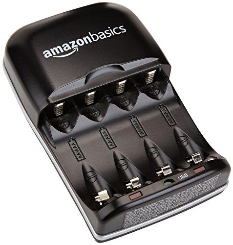 Zoom IMG-2 amazonbasics carica batterie con porta