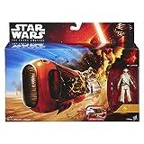 Hasbro Star Wars Episode VII - The Force Awakens Reys Speeder (Jakku) Fahrzeug Set B3676