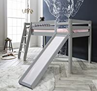 Cabin Bed Thor Midsleeper with Slide in Choice of Colours Noa & Nani