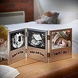 VonHaus Triple Baby Scan Ultrasound Photo Frame/Baby Gift Bild 1