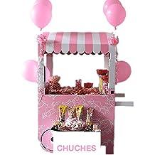 El Carrito de las Chuhes - Perfecto para celebraciones infantiles (Rosa)