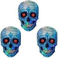 Britannia Darts 9 St/ück 2D Skull Flights Gemischt