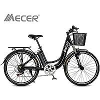 Vélo électrique de ville 36V 10AH Mecer Noir