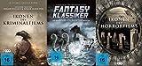 22 Klassiker - IKONEN DES KRIMI - HORROR - & SCIENCE FICTION / FANTASY FILMS - Edgar Wallace + Edgar Allen Poe + Jules Verne u.v. m. DVD Collection