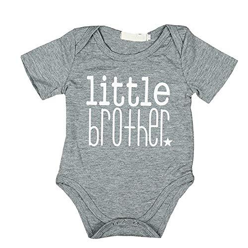 Big-brother-baby-strampelanzug (Geschwisterhemden Bodys Einteiler Set für Große Brüder Siter und Kleine Brüder Junge Geschenkset)