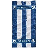FC Schalke 04 Handtuch Blockstreifen