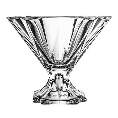 Crystelle aljulia Coque, Cristal, Cristal, 25,5 x 25,5 cm, 25.5 x 25.5 x 22 cm