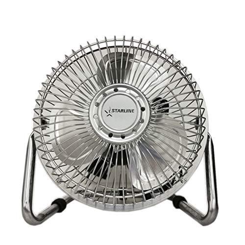Starline Ventilateur de Sol et Table Pales metalicas 6'' 20 W, 2 Vitesses air de.