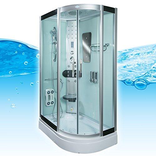 AcquaVapore DTP8060-7000R Dusche Duschtempel Komplett Duschkabine 80x120 - 2
