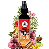 The Legend Organic Onion Hair Oil 100 Ml with 15 Natural Essential Oils