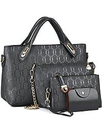 Bolsos de Moda,Coofit Bolsos Mujer Bolso de Mano Monedero Bolsas de 4 piezas