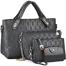 440178688 Bolsos de Moda,Coofit Bolsos Mujer Bolso de Mano Monedero Bolsas de 4 piezas