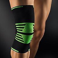 BORT ActiveColor® Sport Kniebandage L schwarz-grün preisvergleich bei billige-tabletten.eu