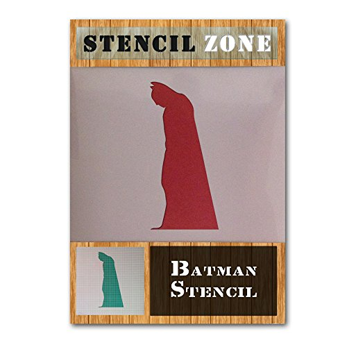 Batman Stand Cape Robin Hero Mylar Airbrush Gemälde Art Wand Crafts Schablone 5 A4 Size Stencil - Small (Royal Design Wand Schablone)