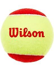 Wilson Starter Easy Balles de tennis enfant Rouge/jaune - lot de 12