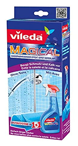 Vileda Magical Dirt Prevention System with Cloth and Spray, 500 ml