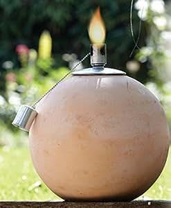 garten llampe terrakotta kugellampe im landhausstil. Black Bedroom Furniture Sets. Home Design Ideas