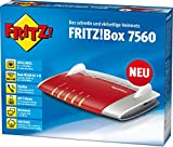 AVM FRITZ!Box 7560 WLAN AC + N Router (VDSL-, ADSL-/ADSL2+-Modem, 866 MBit/s, TK-Anlage für Voice over IP mit DECT-Basis, Media Server)