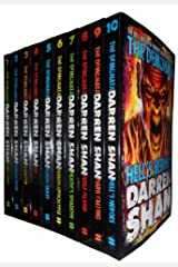 Darren Shan Demonata 10 Books Collection Set Pack (Darren Shan Collection) (Wolf Island, Deaths Shadow, Hells Heroes, Bec, Blood Beast, Dark Calling, Lord Loss, Demon Thief, Slawter, Demon Apocalypse) Paperback