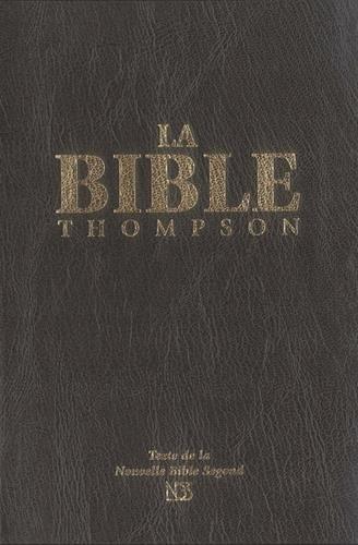 Bible Thompson NBS souple luxe vynil, noire