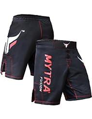 Mytra Fusion MMA Shorts MMA Boxing Kickboxing Muay Thai Mix Martial Arts Cage Fighting Grappling Training