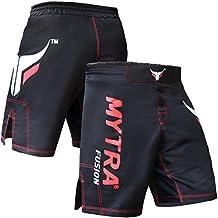 Mytra Fusion pantalones cortos de MMA artes marciales mixtas de boxeo Kickboxing, Muay Thai y artes marciales Mix jaula lucha entrenamiento de gimnasio desgaste ropa pantalones cortos troncos