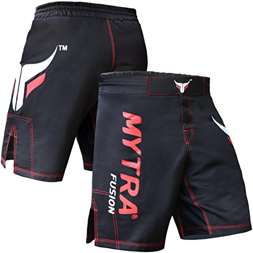 Mytra Fusion MMA Shorts MMA Boxen Kickboxen Muay Thai Mix Martial Arts Käfig kämpfen Grappling Training Gym Wear Kleidung Shorts Trunk