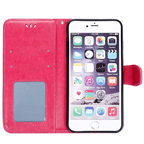 custodia iphone 6s portafoglio pelle