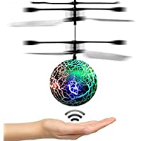 DMbaby Noverty Toys Flying Ball Helicopter- Best Gifts