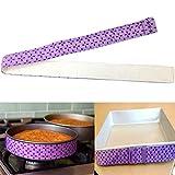 YiniKape Nizza Kuchenform Strips Bake Auch Streifengurt Bake Selbst Moist Ebene Kuchen-Backen-Werkzeug 884cm Streifen,