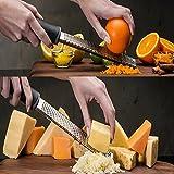 Annstory Käsereibe und Citrus Lemon Zester - Parmesan-Käse