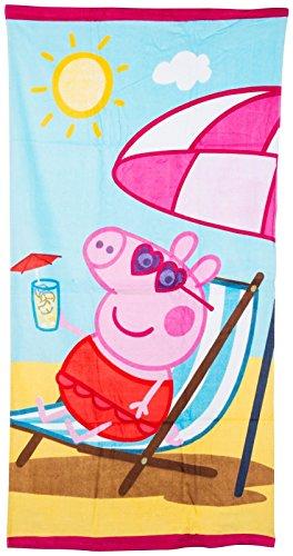 Kids-Peppa-Pig-Towel-Summer-Swimming-Beach-Bath-Towel-George-Girls-Boys-Childrens