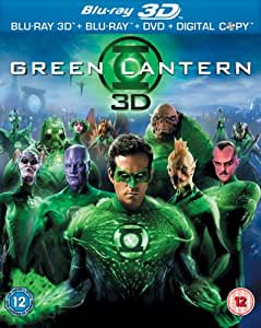 Green Lantern (Blu-ray 3D + Blu-ray + DVD + Digital Copy) [2011] [Region Free]