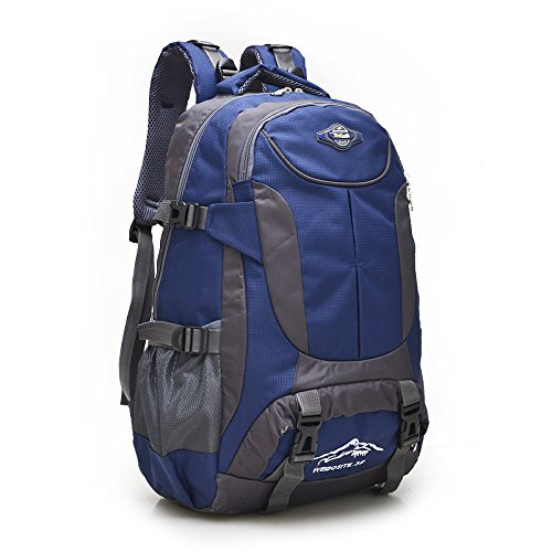 Escursionismo Zaini, borse, borse da trekking, borse all'aperto, impermeabile Zaino di viaggio zainetto escursionismo sacco impermeabile zaino viaggio,blu navy Navy Blue