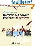 Biochimie des activit�s physiques et...