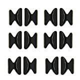 Homgaty 5 Pairs Non-slip Silicone Air Chamber Nose Pads For Glasses Sunglasses Black by Homgaty